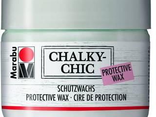 Aus gebraucht wird Chic. Aus neu wird Vintage. Mit Marabu Chalky-Chic! Marabu GmbH & Co. KG WohnzimmerAccessoires und Dekoration Holz Weiß