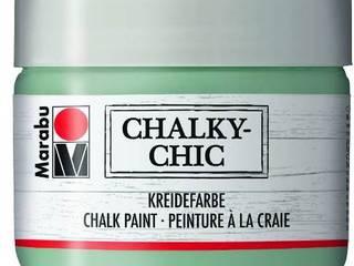 Aus gebraucht wird Chic. Aus neu wird Vintage. Mit Marabu Chalky-Chic! Marabu GmbH & Co. KG WohnzimmerAccessoires und Dekoration Holz Lila/Violett