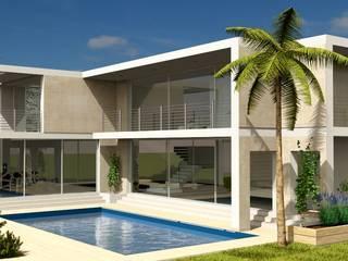 Casas modernas por Nyda Design - Nicola D'Alessandro architetto Moderno