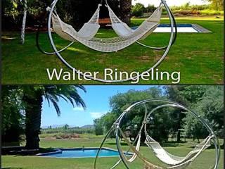 Porta Hamacas Triple:  de estilo  por Walter Ringeling Diseño & Mobiliario