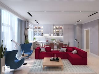 Giovani Design Studio Living room