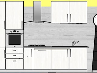Kitchen by Designer-in di Rosita Simeoli,