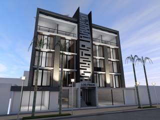 """Conjunto Habitacional """"Los Pinos"""": Casas de estilo moderno por Lima Arquitectos"""