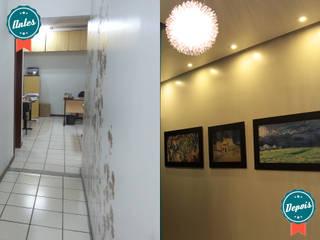 Hall - Escritório Consultória:   por Daisy Andrade  - Arquitetura & Interiores