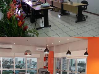 Área de Trabalho Integrada - Escritório Consultoria:   por Daisy Andrade  - Arquitetura & Interiores