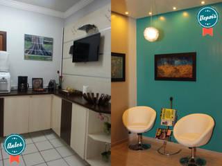 Sala de Espera - Escritório Consultoria:   por Daisy Andrade  - Arquitetura & Interiores