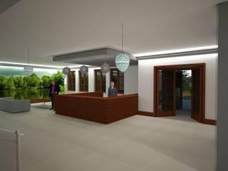 Budynek Ośrodka dla Osób Starszych – MONAR Sobolew k. Garwolina: styl , w kategorii Kliniki zaprojektowany przez ARCH.SAR Daniel Sarna,