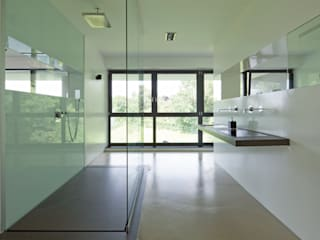 Modern bathroom by natursteinwolf GmbH & Co. KG - die natursteinmanufaktur Modern