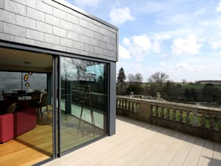 Dunloran House Modern windows & doors by IQ Glass UK Modern