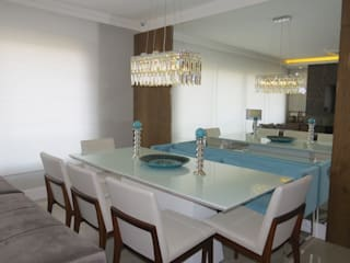 Dining room by Paula Szabo Arquitetura, Modern