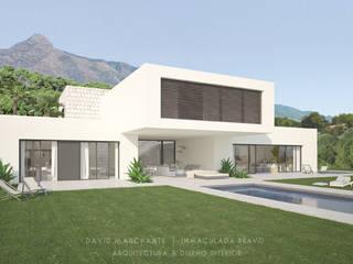 Vivienda en la Costa del Sol Casas de estilo minimalista de David Marchante | Inmaculada Bravo Minimalista