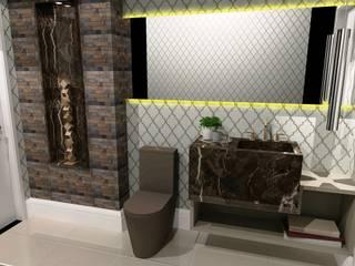 Lavabo: Banheiros  por RS Design Studio