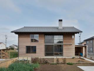 安島の新屋 ラスティックな 家 の 丸山晴之建築事務所 ラスティック
