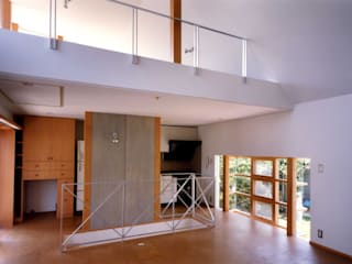 M2 House モダンデザインの リビング の 創作工房・閾 モダン