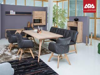 """Ess group """"CLINT"""" 2016 designed by Sven Dogs for ADA Premium sven dogs EsszimmerStühle und Bänke Holz Braun"""