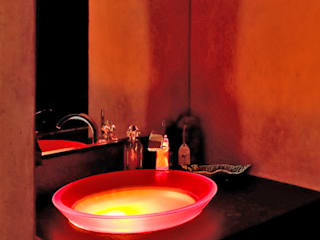 Pierre Bernard Création BathroomSinks Orange