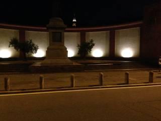 Illuminazione Monumento Stoppani: Musei in stile  di E'LUCE SRL