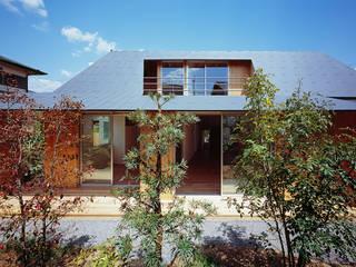 学園前の住宅 モダンな 家 の 黒川智之建築設計事務所 モダン