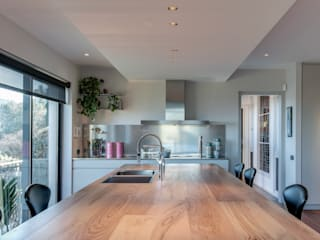 REFORMA COCINA VALLVIDRERA Cocinas de estilo moderno de LUV Studio Moderno