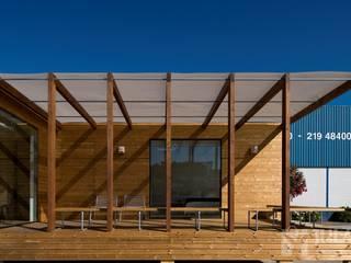 Jular Madeiras Casas minimalistas Madera Acabado en madera