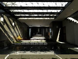Master Room: Recámaras de estilo  por D3c Arquitectos