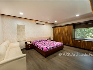 ห้องนอน by ARK Architects & Interior Designers