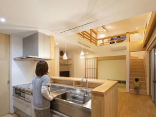 ห้องครัว by 田村の小さな設計事務所