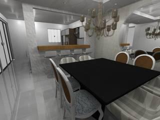 Residencia : Salas de jantar  por Marlon Vilela ,Clássico