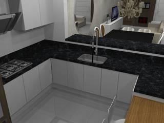 Residencia : Cozinhas  por Marlon Vilela ,Moderno