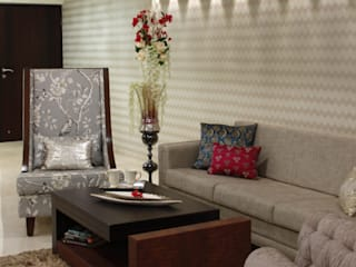 Serenity home!:  Living room by Neha Changwani,Modern