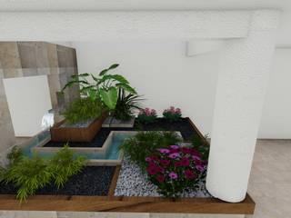Jardins minimalistas por A-labastrum arquitectos Minimalista