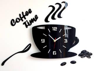 Zegar Ścienny Filiżanka 3D: styl , w kategorii Ściany zaprojektowany przez ModernClock