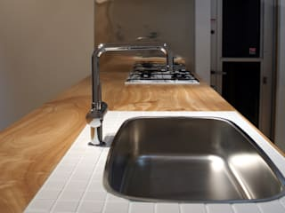 Moderne Küchen von 田村の小さな設計事務所 Modern