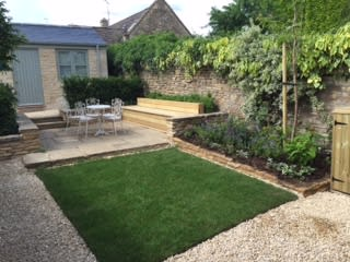 Cotswold Garden: country Garden by Samantha Willis Garden Design