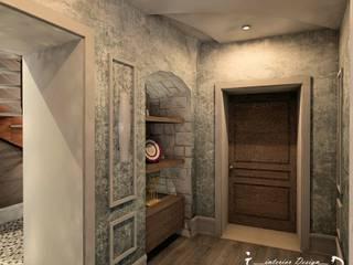 Concept design di una piccola casa privata: Ingresso & Corridoio in stile  di Giovanni Lorusso Geometra & Interior Designer