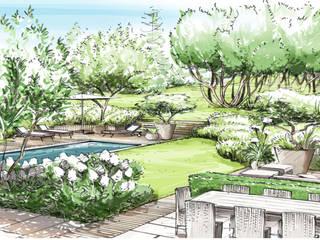 Frischer Atem im Garten: modern  von Ecologic City Garden - Paul Marie Creation,Modern