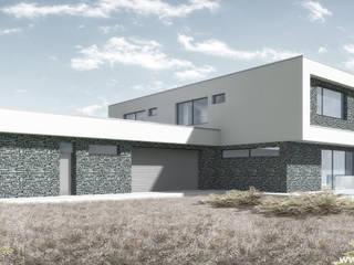 Casas de estilo minimalista de Slava Filipenka architect Minimalista