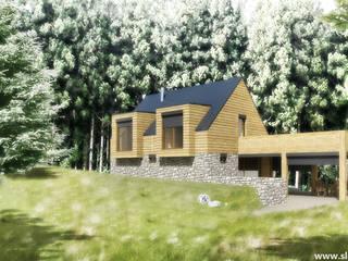 Scandinavian style houses by Slava Filipenka architect Scandinavian