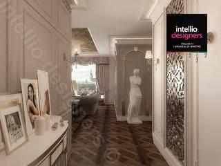 Intellio designers Pasillos, vestíbulos y escaleras de estilo clásico