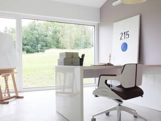 Nowoczesne domowe biuro i gabinet od Schiller Architektur BDA Nowoczesny