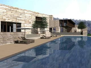Casas de estilo mediterráneo de Sinem Oktay Mediterráneo