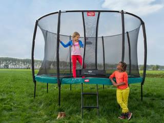 BERG Champion trampoline BERG Toys B.V. Jardines de estilo rural Plástico Verde