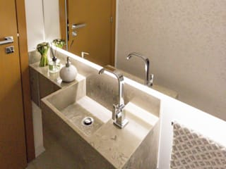 Lavabo Residencial Banheiros clássicos por Caroline Ritzmann Stratmann Arquitetura e Interiores Clássico