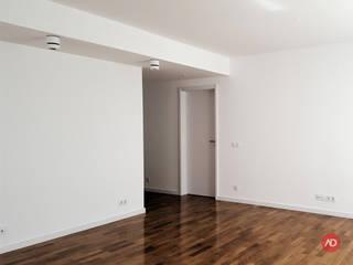 ARCHDESIGN LX Salas de estilo mediterraneo Ladrillos Blanco