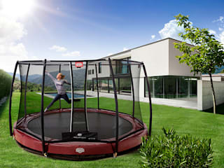 BERG InGround Elite+ 330/380/430 + Safety Net T-Series: landelijke Tuin door BERG Toys B.V.