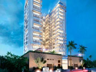 Edificio QB:  de estilo  por AV arquitectos, Moderno