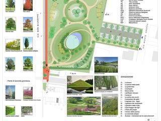 Un Parco Scolpito:  in stile  di VerdePiùStudio - Architettura del paesaggio, Moderno