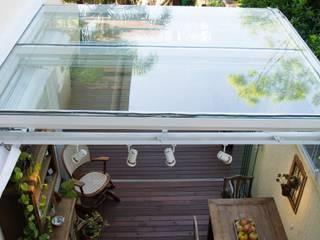 Expace - espaços e experiências ระเบียง, นอกชาน กระจกและแก้ว