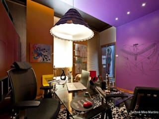 Phòng học/Văn phòng theo Jacqueline Fumagalli Arquitetura & Design, Chiết trung