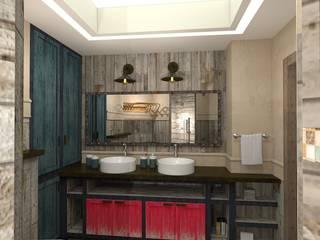 浴室 by ЙОХ architects
